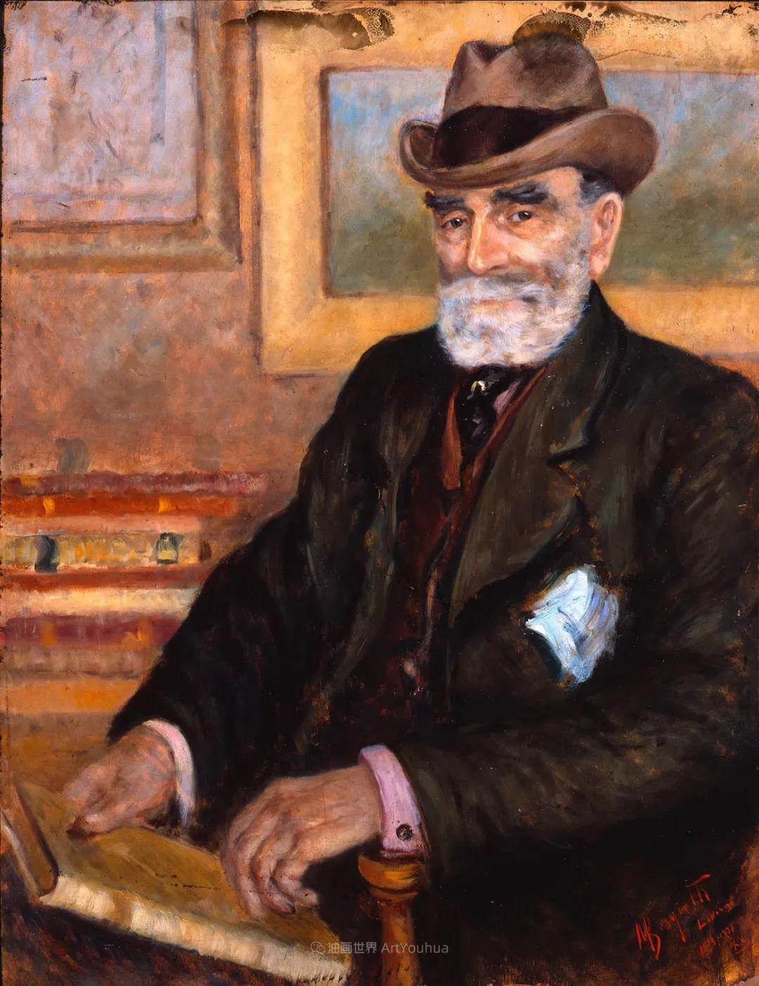 后斑痕画派的著名代表,意大利画家乌尔维·利吉插图23
