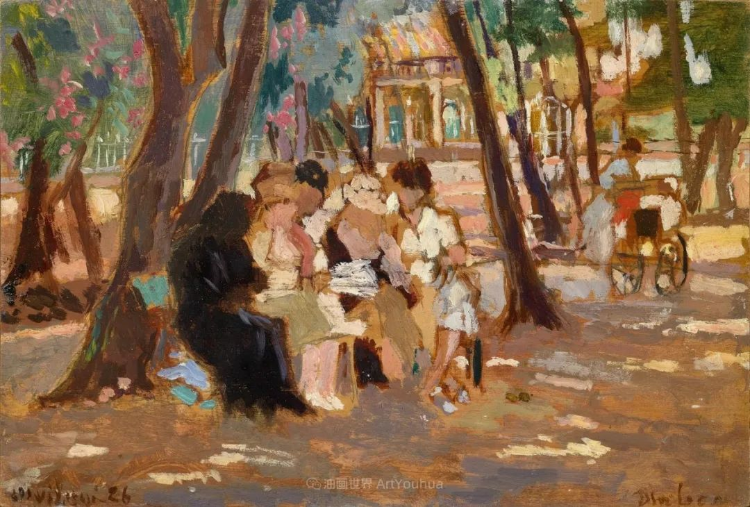后斑痕画派的著名代表,意大利画家乌尔维·利吉插图25