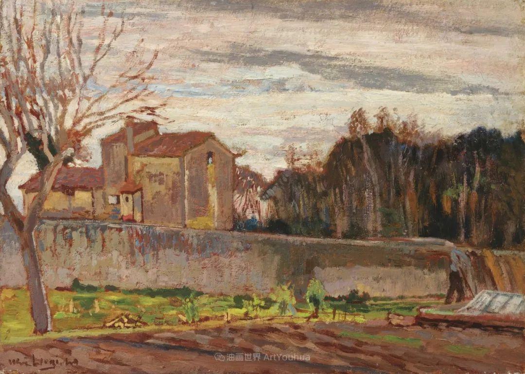 后斑痕画派的著名代表,意大利画家乌尔维·利吉插图31
