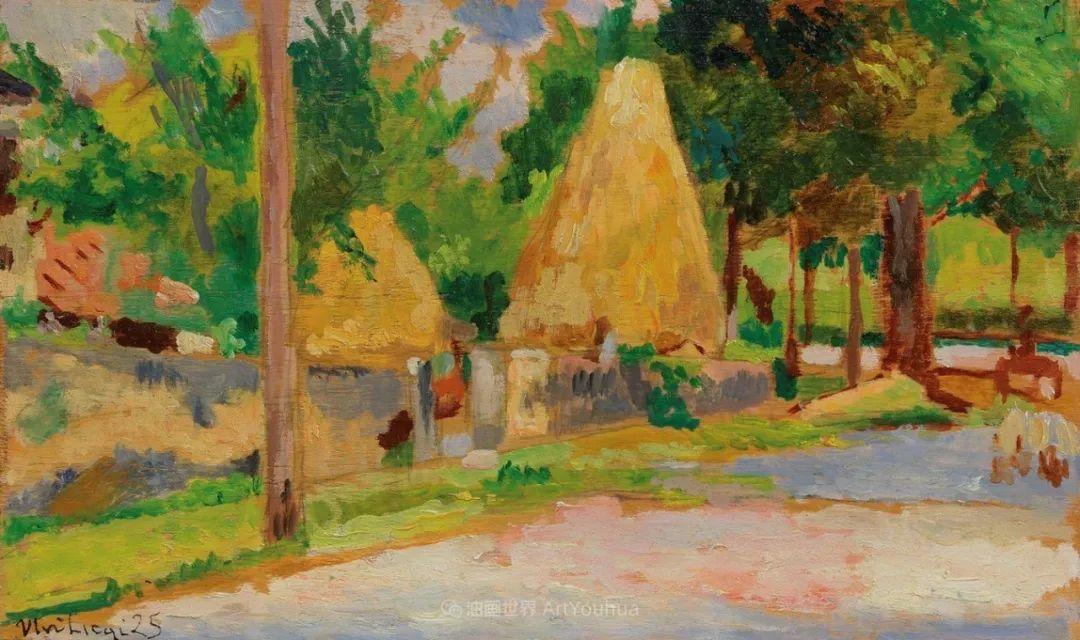 后斑痕画派的著名代表,意大利画家乌尔维·利吉插图33