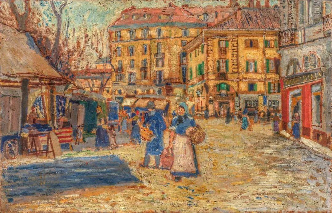 后斑痕画派的著名代表,意大利画家乌尔维·利吉插图37