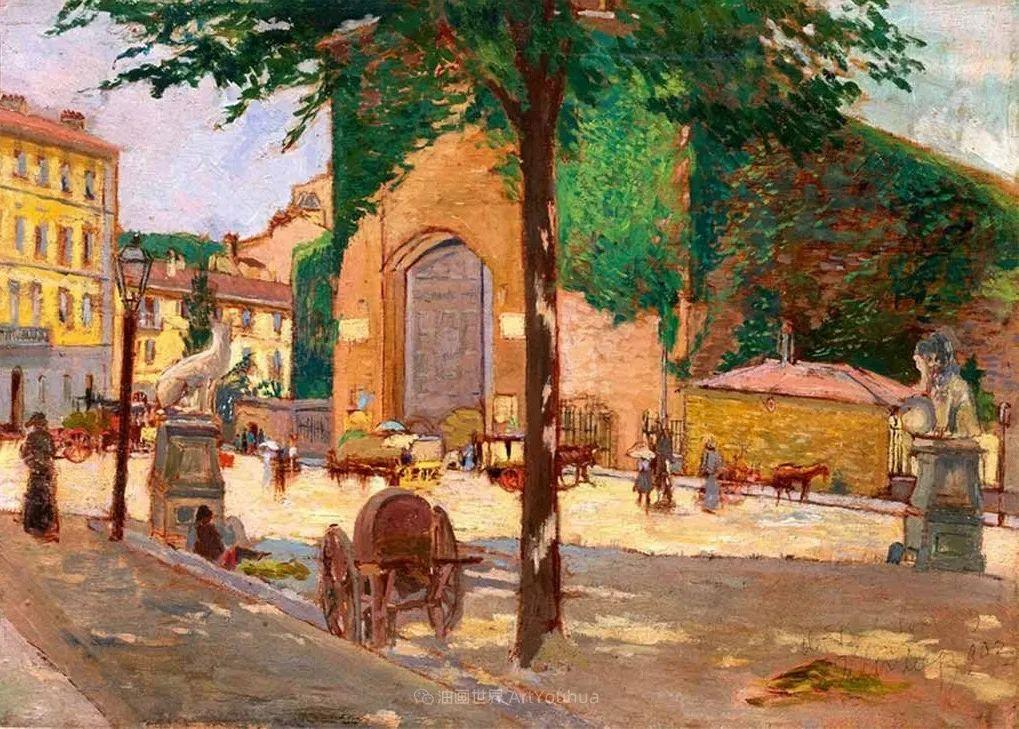 后斑痕画派的著名代表,意大利画家乌尔维·利吉插图39