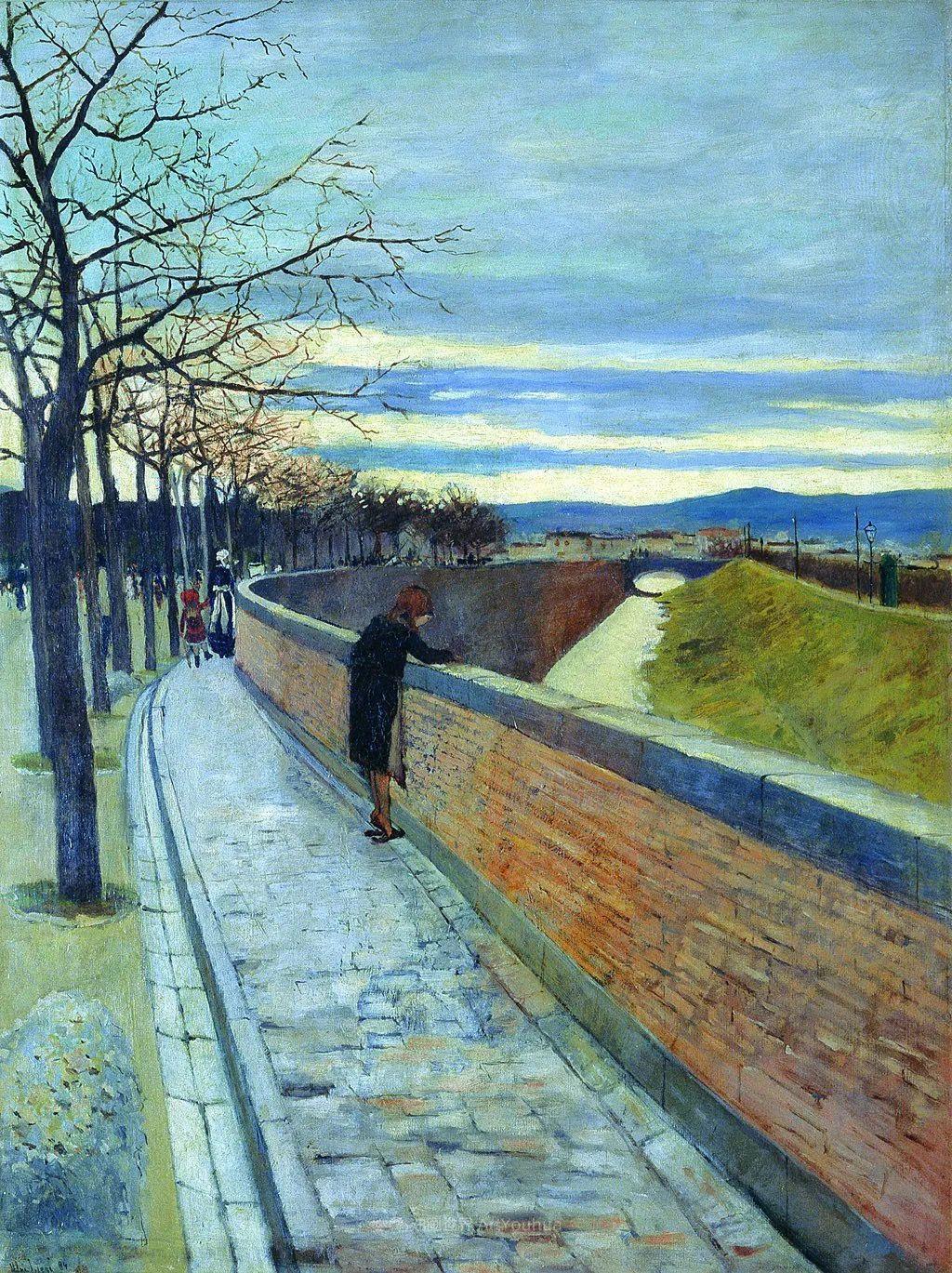 后斑痕画派的著名代表,意大利画家乌尔维·利吉插图41