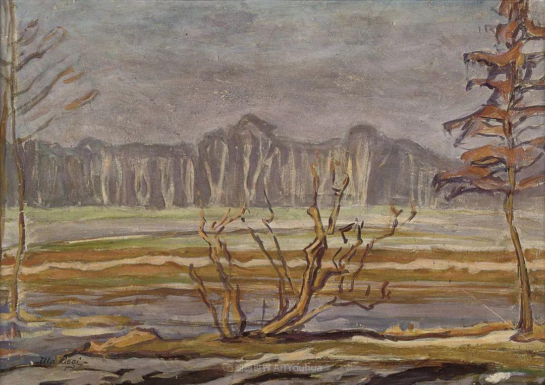 后斑痕画派的著名代表,意大利画家乌尔维·利吉插图43