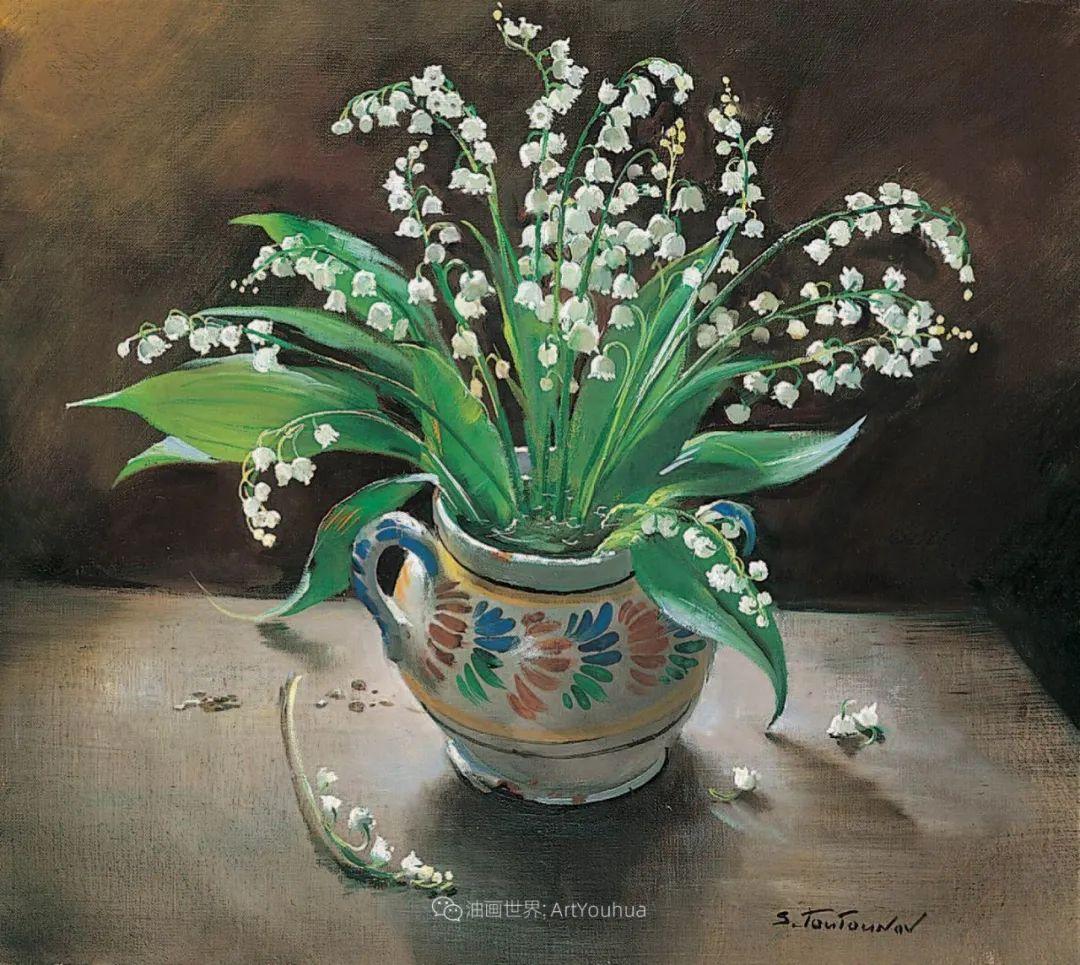 花香袭人,绚丽多彩!俄罗斯画家谢尔盖·图图诺夫插图25