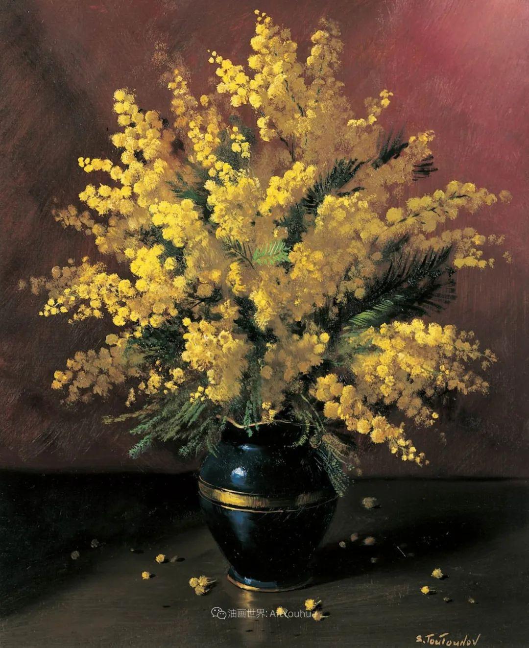 花香袭人,绚丽多彩!俄罗斯画家谢尔盖·图图诺夫插图29