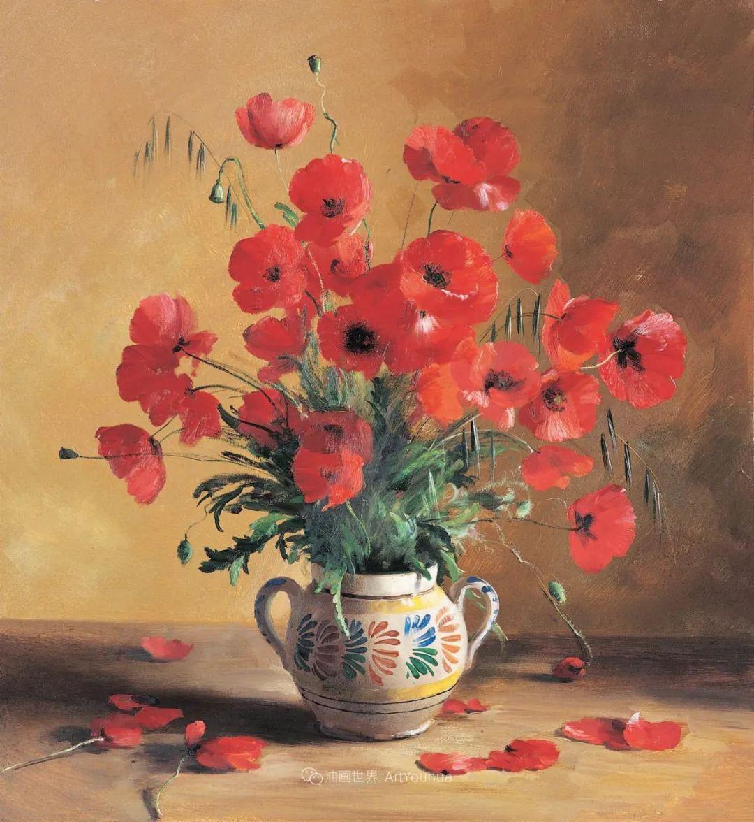 花香袭人,绚丽多彩!俄罗斯画家谢尔盖·图图诺夫插图45