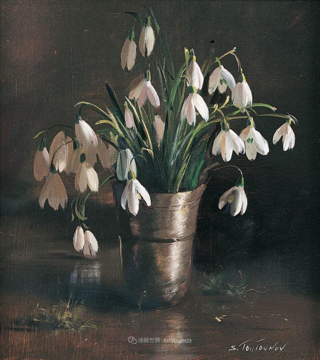 花香袭人,绚丽多彩!俄罗斯画家谢尔盖·图图诺夫插图49