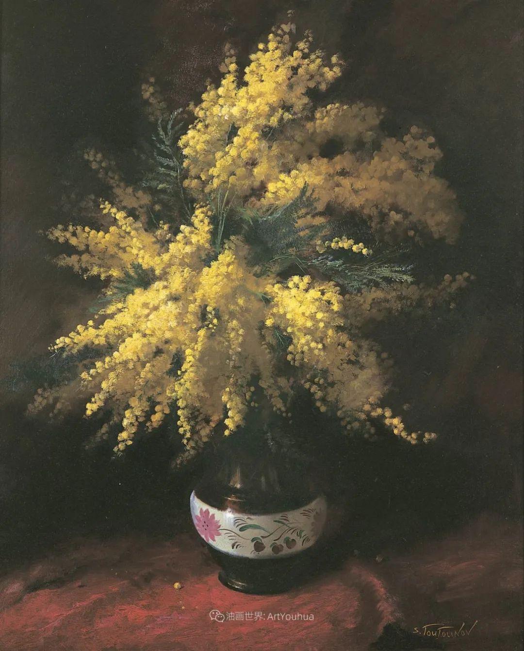 花香袭人,绚丽多彩!俄罗斯画家谢尔盖·图图诺夫插图53