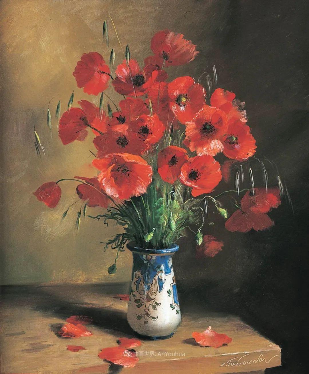 花香袭人,绚丽多彩!俄罗斯画家谢尔盖·图图诺夫插图55