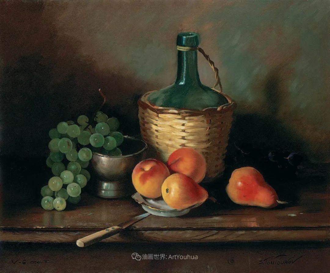 花香袭人,绚丽多彩!俄罗斯画家谢尔盖·图图诺夫插图63
