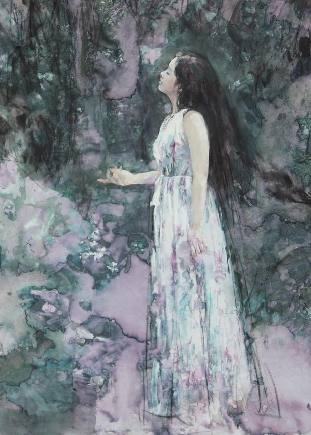 东方女性特有的优雅风韵,梦幻般的唯美!插图16