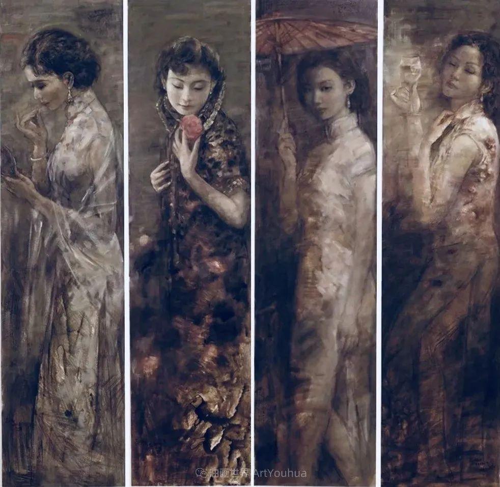 东方女性特有的优雅风韵,梦幻般的唯美!插图33
