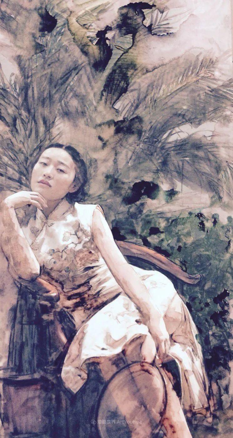 东方女性特有的优雅风韵,梦幻般的唯美!插图38