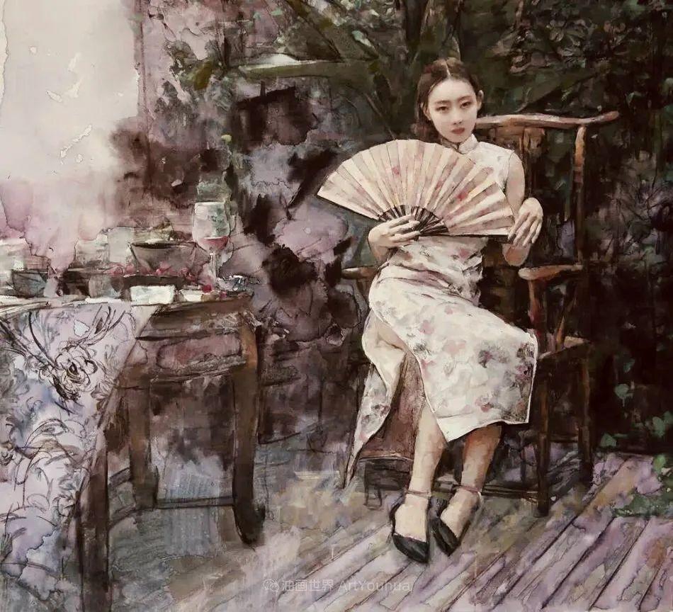 东方女性特有的优雅风韵,梦幻般的唯美!插图49
