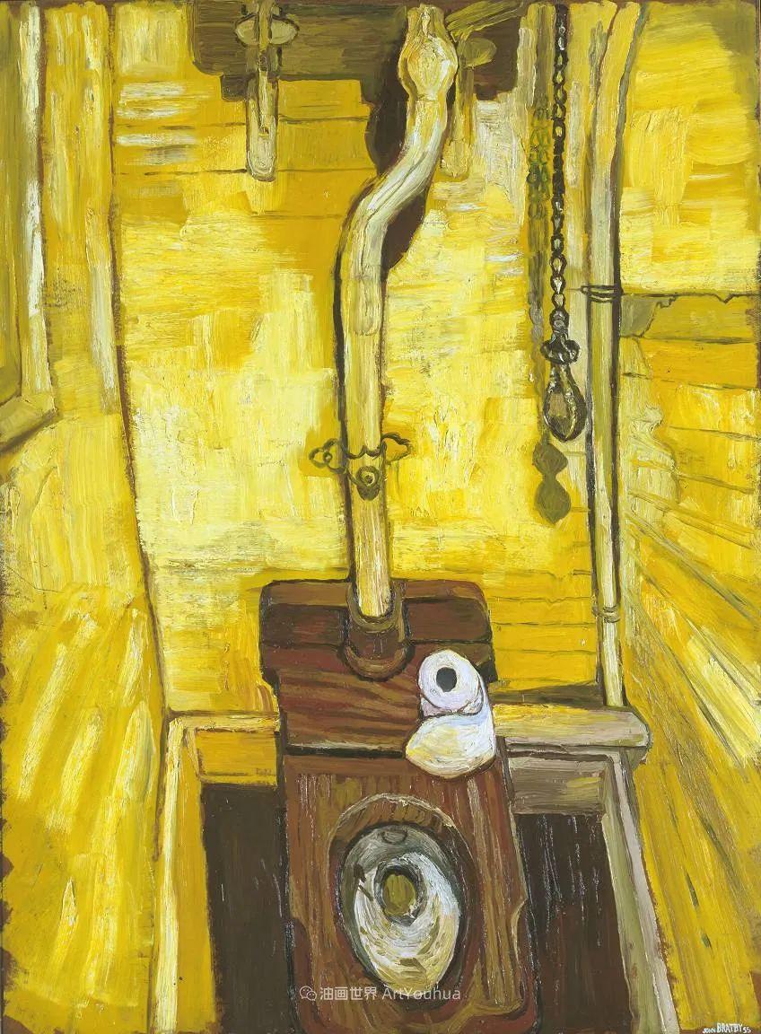 色彩鲜艳,笔触厚重!厨房水槽现实主义创始人插图57