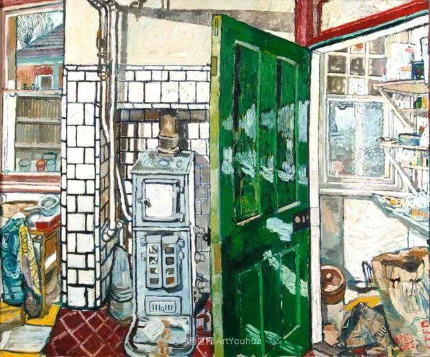 色彩鲜艳,笔触厚重!厨房水槽现实主义创始人插图99