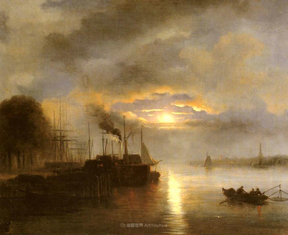 浪漫主义风景画,荷兰画家尼古拉斯·鲁森博姆插图1