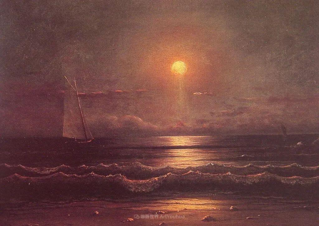 浪漫主义风景画,荷兰画家尼古拉斯·鲁森博姆插图21