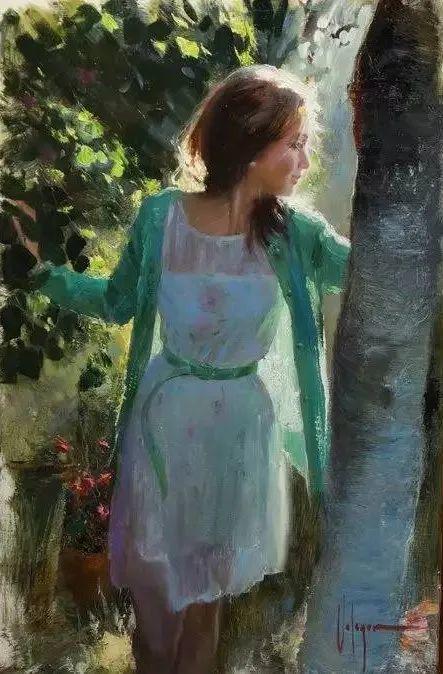 油画里,光影中的美女,一美千年!插图21