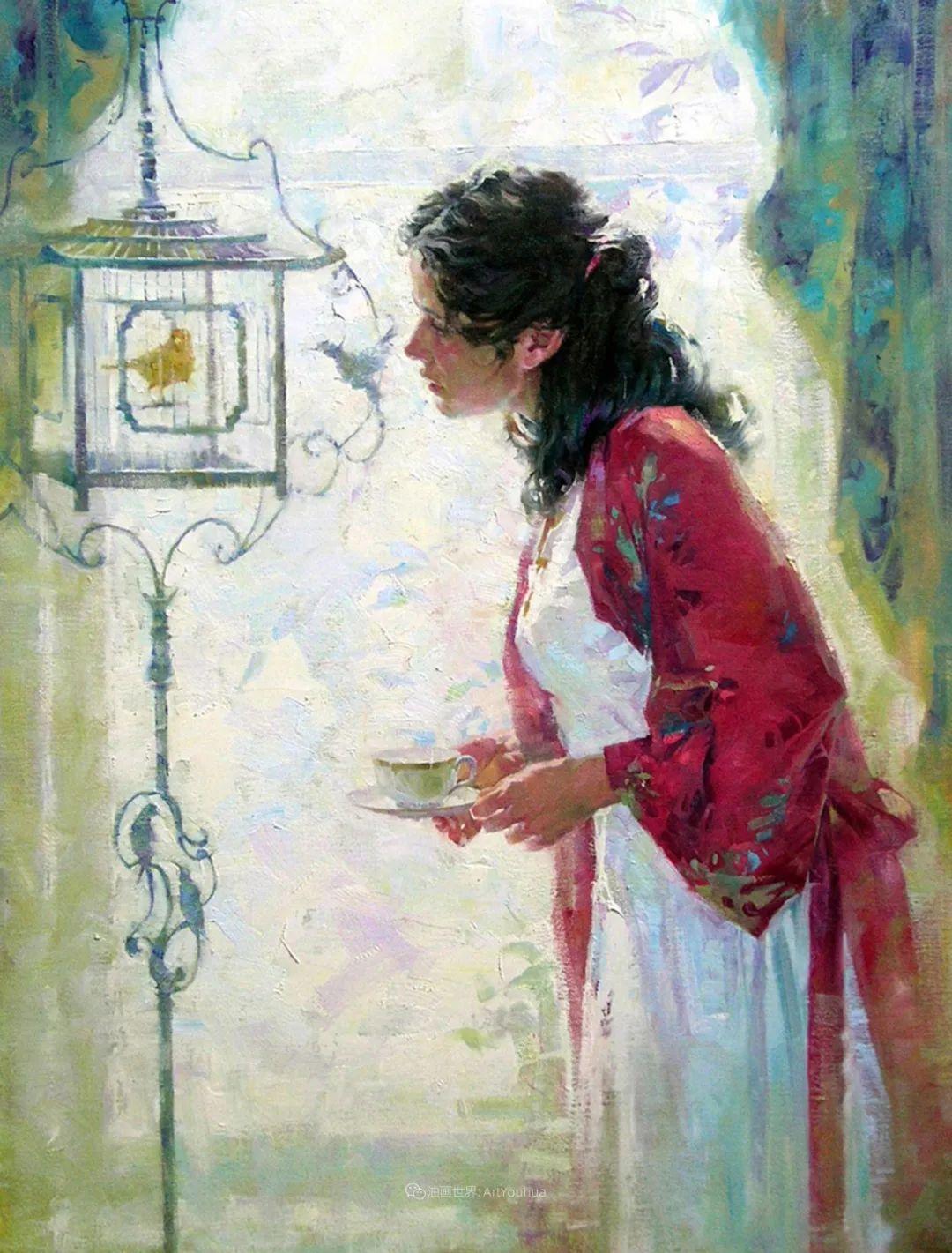 女人与花,世间最美的画卷!插图19