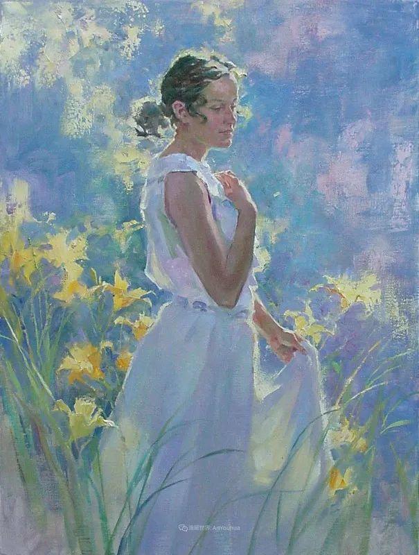 女人与花,世间最美的画卷!插图53