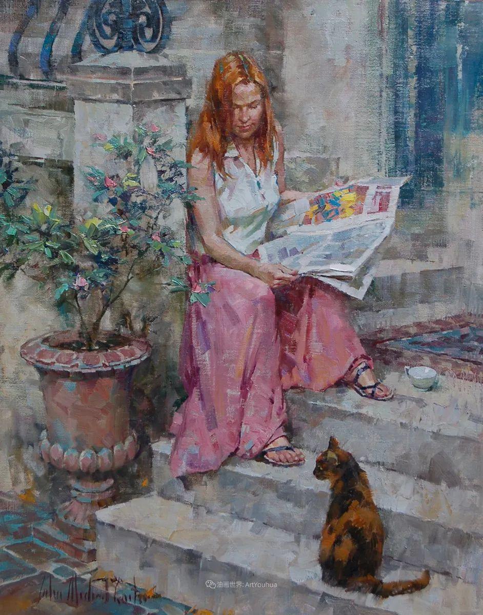 女人与花,世间最美的画卷!插图75