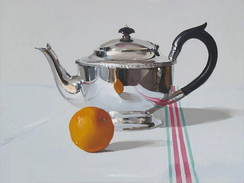 英国画家 Alan kingsbury  艾伦·金斯伯里 质感超强静物欣赏插图1