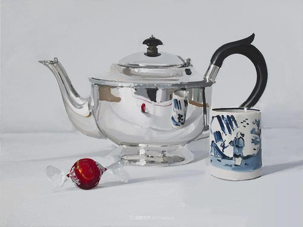 英国画家 Alan kingsbury  艾伦·金斯伯里 质感超强静物欣赏插图3
