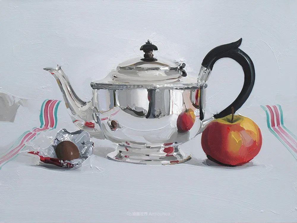 英国画家 Alan kingsbury  艾伦·金斯伯里 质感超强静物欣赏插图5