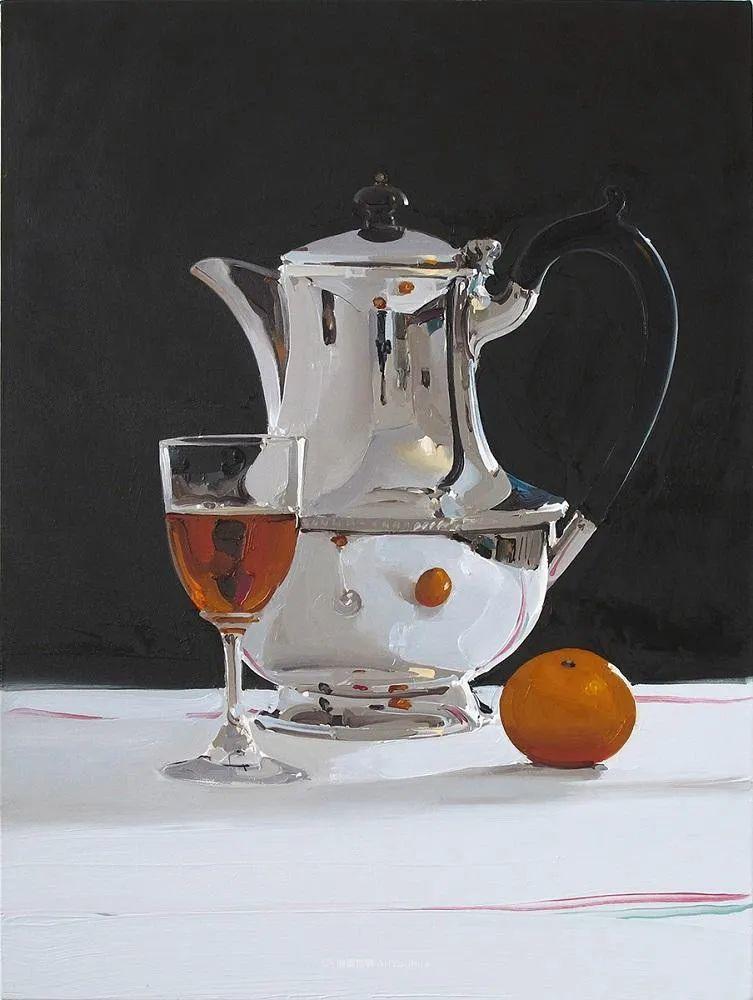 英国画家 Alan kingsbury  艾伦·金斯伯里 质感超强静物欣赏插图33