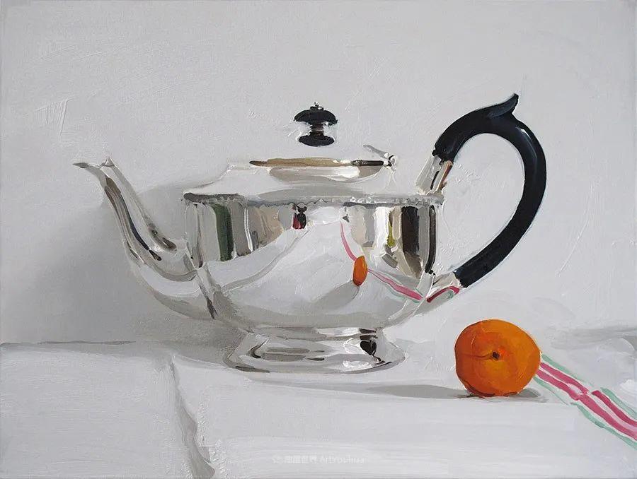 英国画家 Alan kingsbury  艾伦·金斯伯里 质感超强静物欣赏插图46