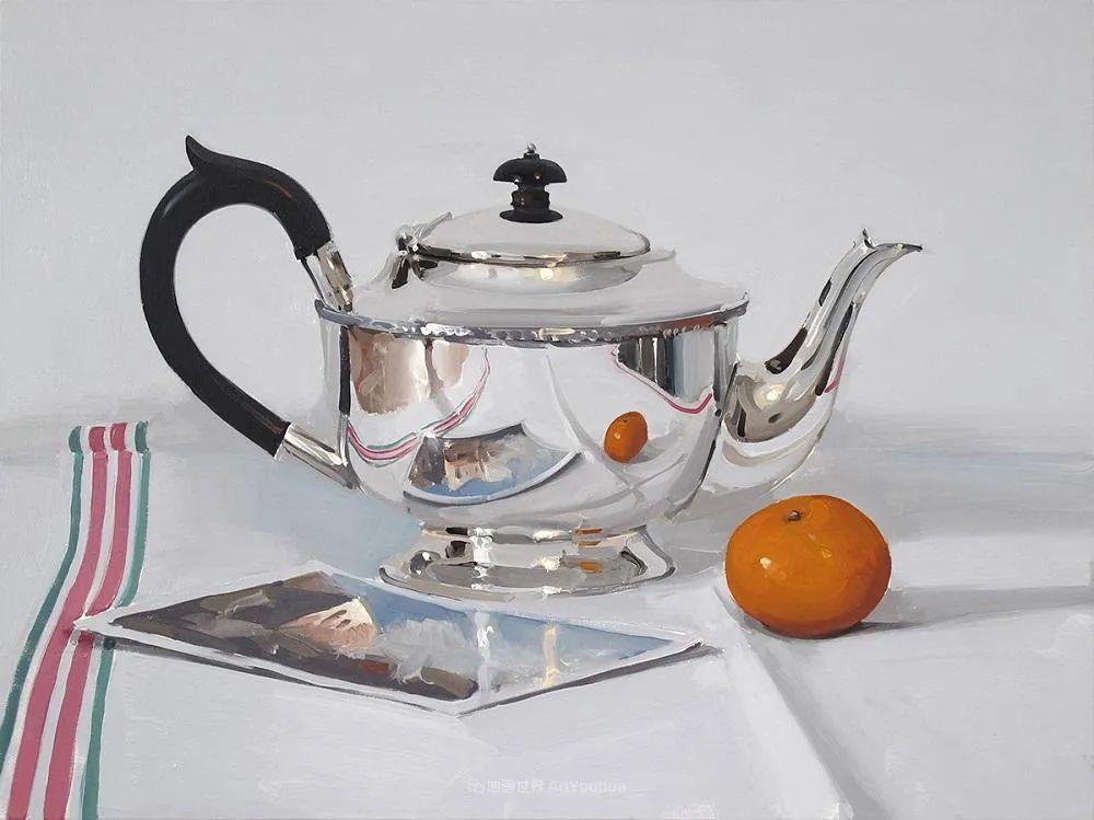 英国画家 Alan kingsbury  艾伦·金斯伯里 质感超强静物欣赏插图56