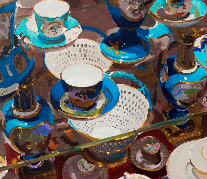英国画家 Alan kingsbury  艾伦·金斯伯里 质感超强静物欣赏插图60