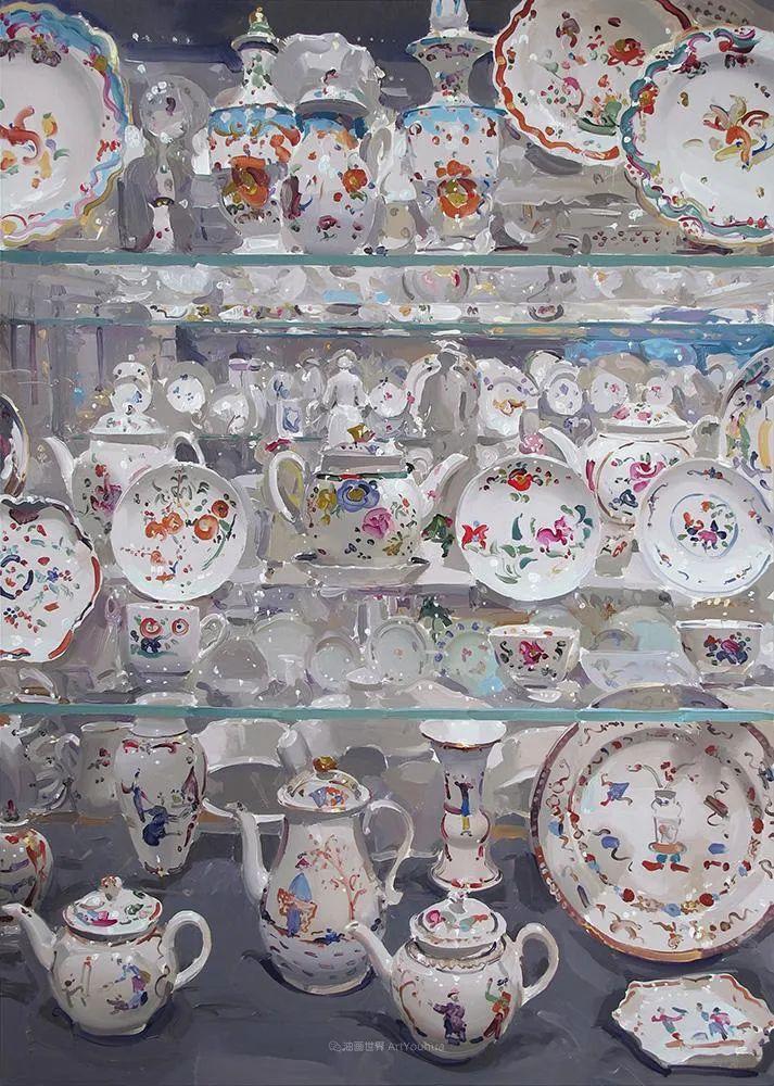 英国画家 Alan kingsbury  艾伦·金斯伯里 质感超强静物欣赏插图68