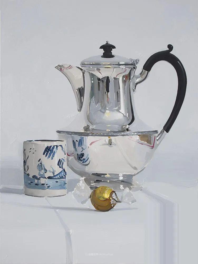 英国画家 Alan kingsbury  艾伦·金斯伯里 质感超强静物欣赏插图72