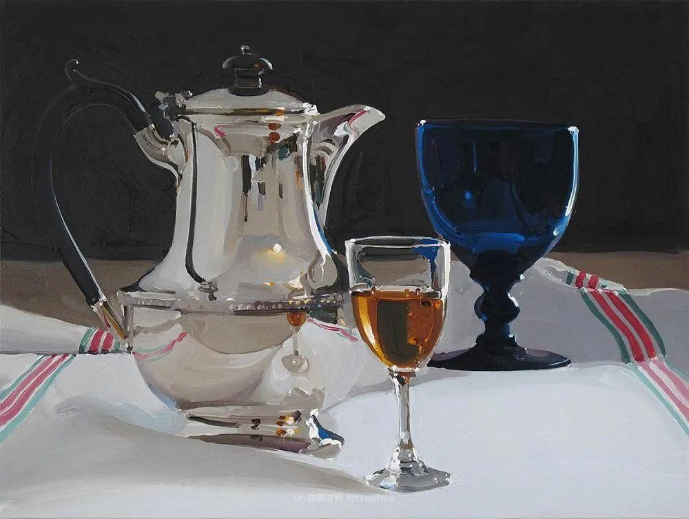 英国画家 Alan kingsbury  艾伦·金斯伯里 质感超强静物欣赏插图74