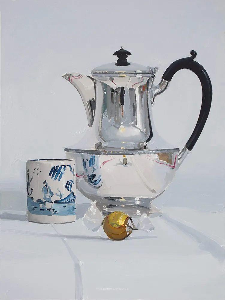 英国画家 Alan kingsbury  艾伦·金斯伯里 质感超强静物欣赏插图80