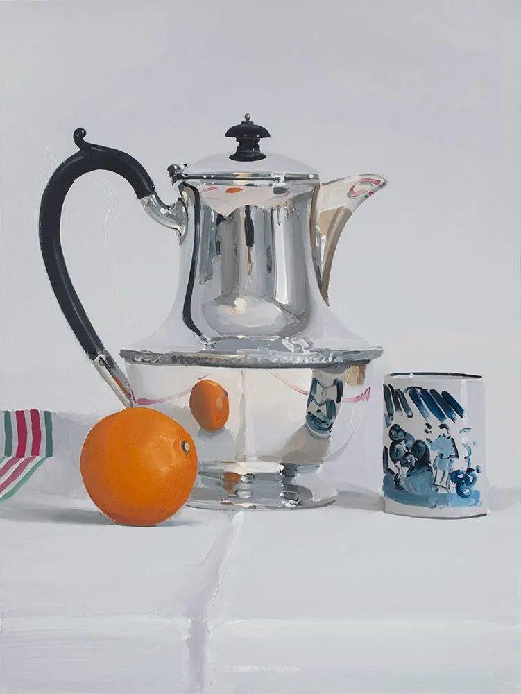 英国画家 Alan kingsbury  艾伦·金斯伯里 质感超强静物欣赏插图82
