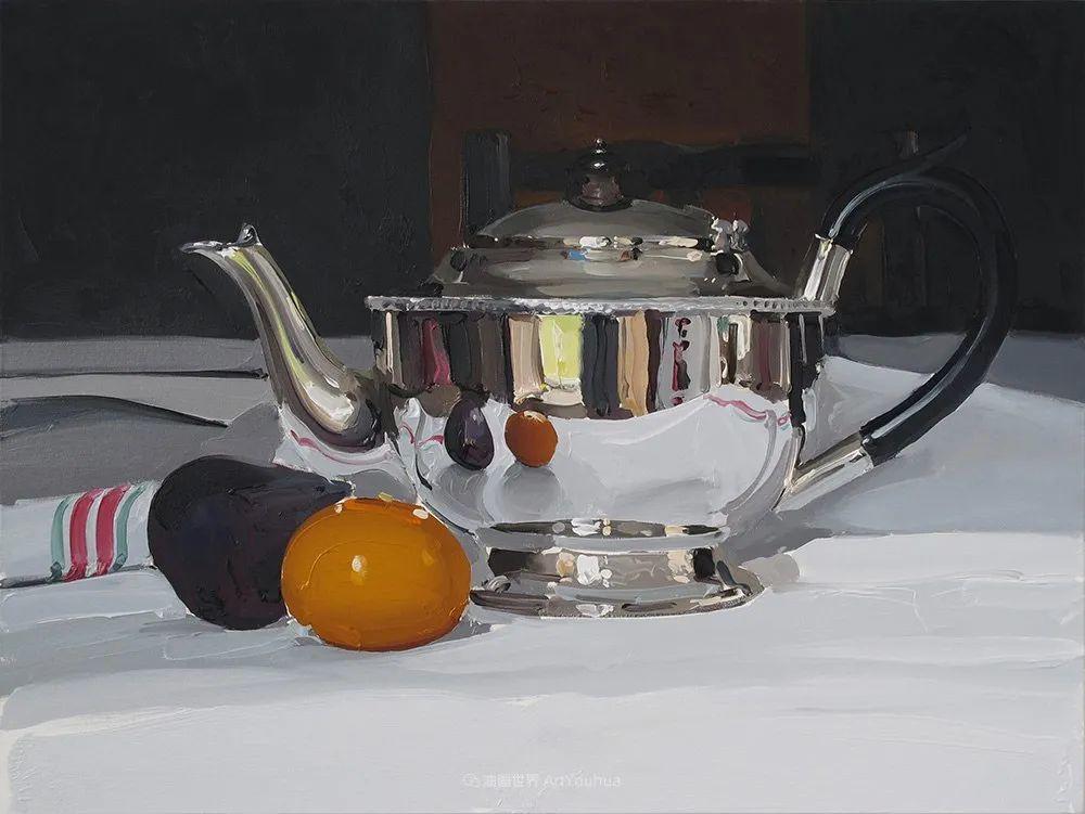 英国画家 Alan kingsbury  艾伦·金斯伯里 质感超强静物欣赏插图84