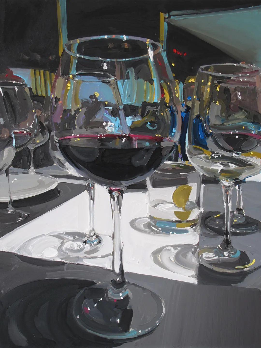 英国画家 Alan kingsbury  艾伦·金斯伯里 质感超强静物欣赏插图99