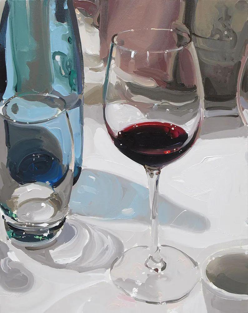 英国画家 Alan kingsbury  艾伦·金斯伯里 质感超强静物欣赏插图115