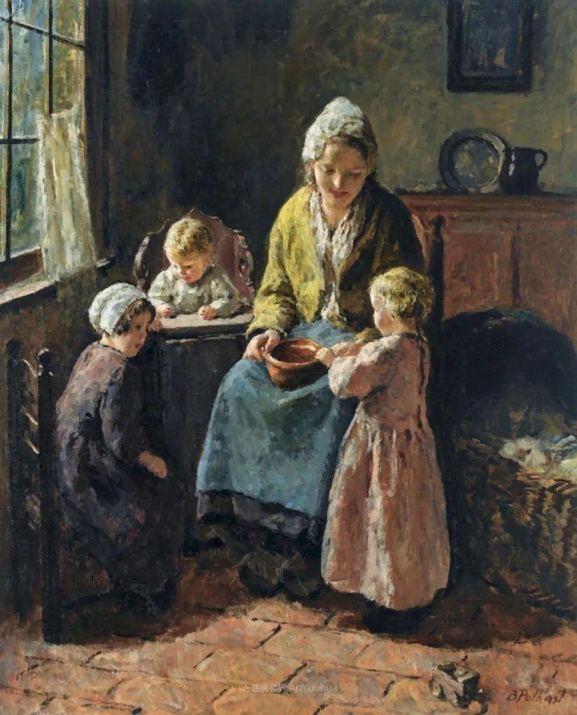 用自然光渲染的母亲与孩子,很有爱!插图3