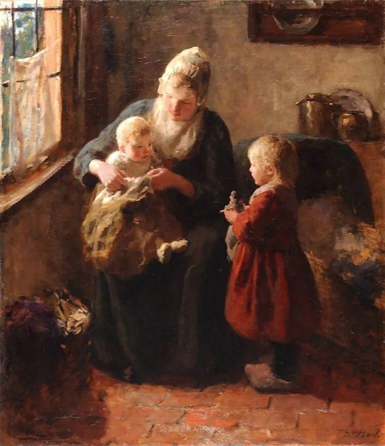 用自然光渲染的母亲与孩子,很有爱!插图17