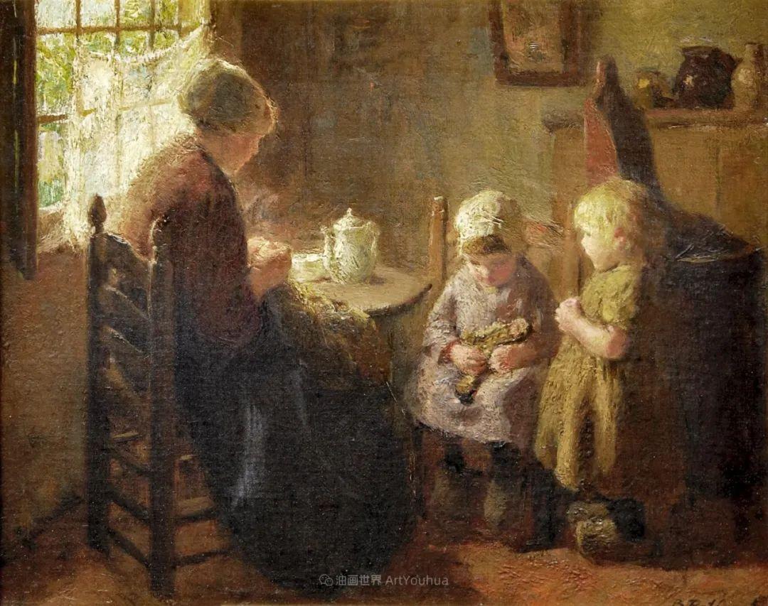 用自然光渲染的母亲与孩子,很有爱!插图25
