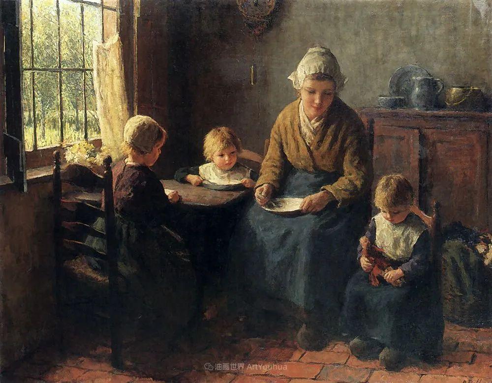 用自然光渲染的母亲与孩子,很有爱!插图31