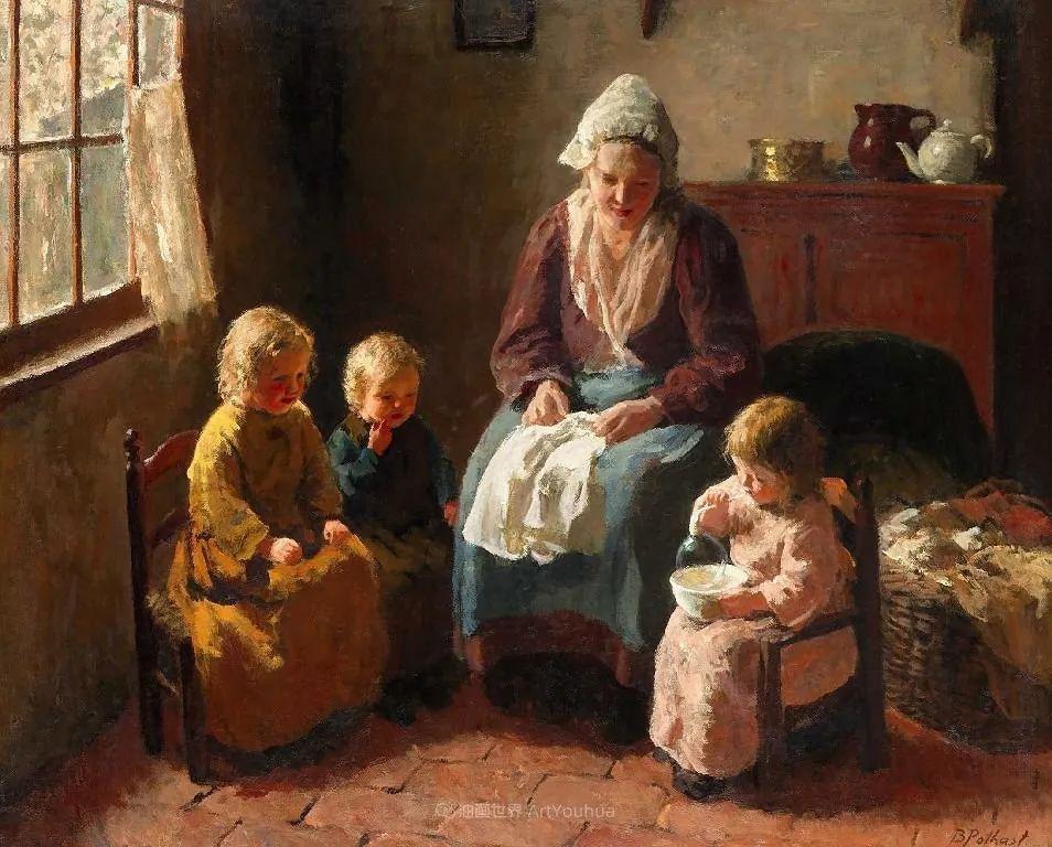 用自然光渲染的母亲与孩子,很有爱!插图37