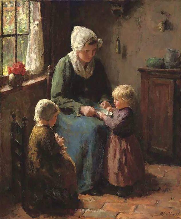 用自然光渲染的母亲与孩子,很有爱!插图41