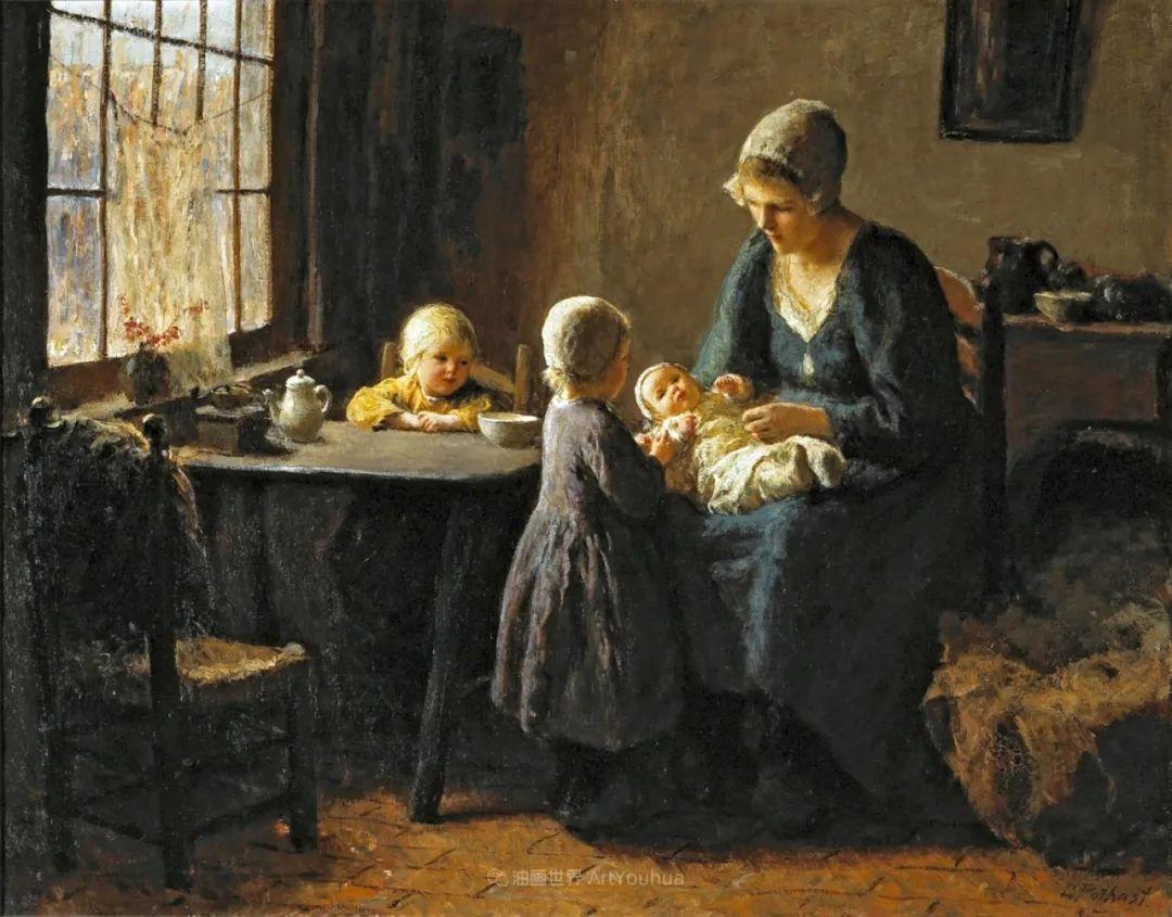 用自然光渲染的母亲与孩子,很有爱!插图43