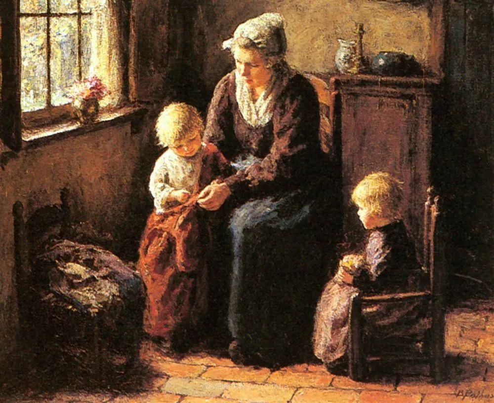 用自然光渲染的母亲与孩子,很有爱!插图53